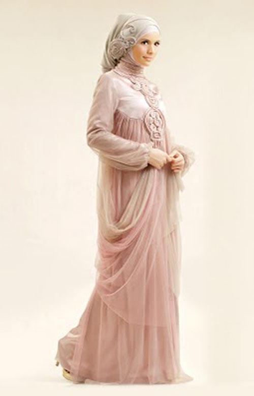 Irna la Perle dress, pastel pink #hijab