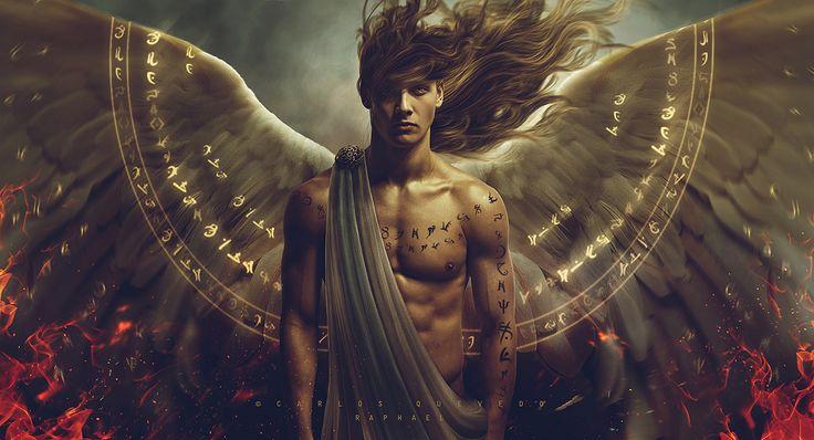 Raphael Archangel Male Rings