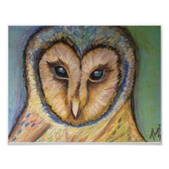 Customizable #Animal#Portrait #Animals #Barn#Owl #Birds #Blue #Cute #Cute#Owl #Drawing #Majestic #Owl #Owls #Yellow Majestic Owl Poster available WorldWide on http://bit.ly/2j2G7pV
