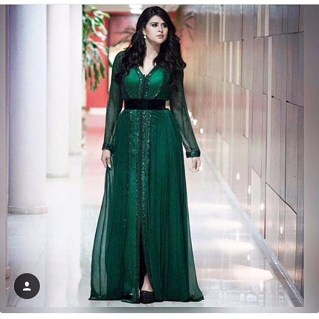 Caftan Marocain Chic - 10 Styles Caftan de Luxe en 2019  01d082d2f6c