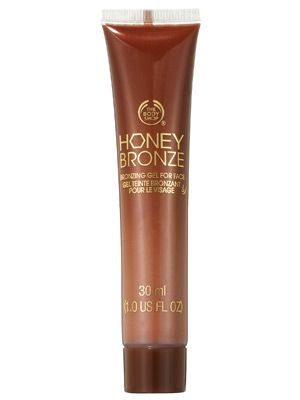 The Body Shop Honey Bronze Bronzing Gel for Face gives skin a sheer bronze tint