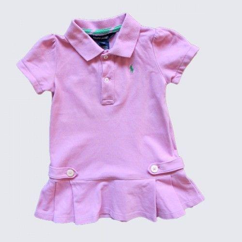 Vestido rosa Ralph Lauren