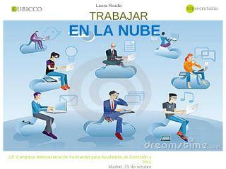 LA NUBE EN EL AMBITO EDUCATIVO Y AMBITO LABORAL : LA NUBE EN EL AMBITO LABORAL