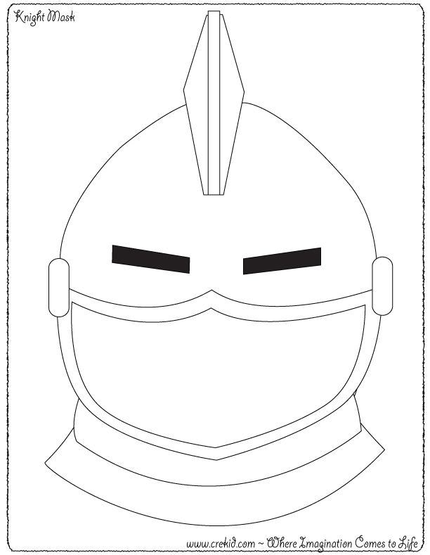 Knight Mask ~ Knights & Castles - Knight Printout ~ Knight Printable ~ Knight Theme ~ Knights Coloring Pages ~ Drawing - Writing - Stories - Knight Story Rocks Knight Activities ~ Knights Preschool ~ Knight Kindergarten - First Grade - Second Grade - Third Grade - Writing Prompts - Sentence Starters - Story Prompts - Story Maps - www.crekid.com - Where Creativity & Imagination come to Life