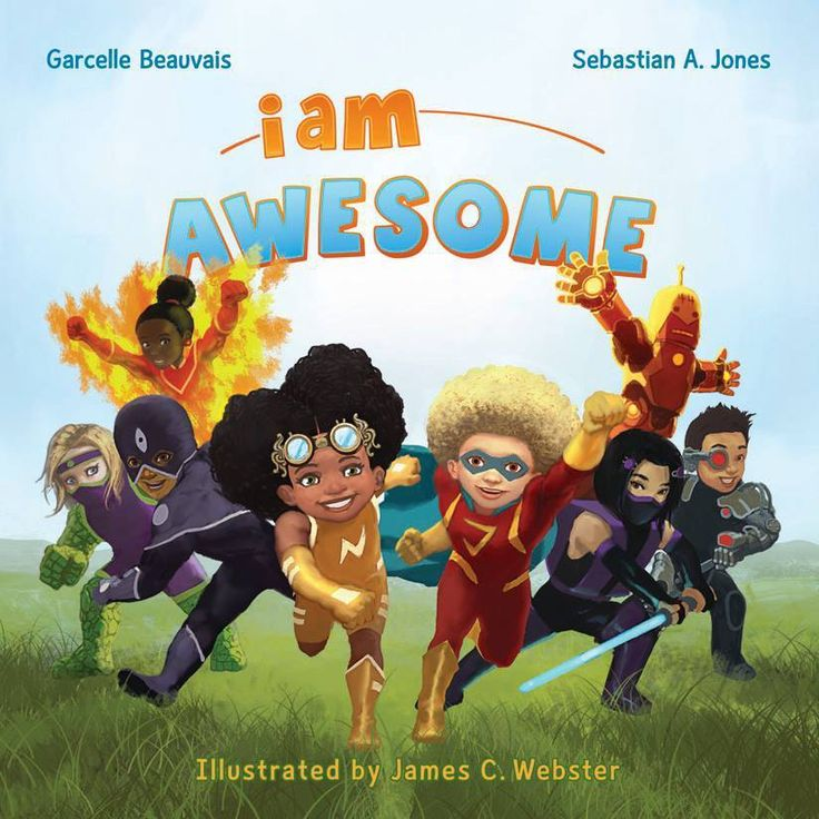 """Our third book in the """"I Am Book Series""""  """"I Am Awesome"""" A fun story that promotes imagination and positive thinking.  Purchase here: http://www.amazon.com/Am-Awesome-Book/dp/1939834139/ref=sr_1_1?s=books&ie=UTF8&qid=1437152939&sr=1-1&keywords=i+am+awesome #Childrensbooks #reading #storybooks #diversebooks #diversekidsbooks #mixedkids"""