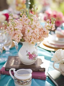 For a Tea Party Wedding