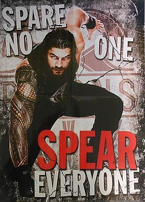 WWE ROMAN REIGNS POSTER (NEW)