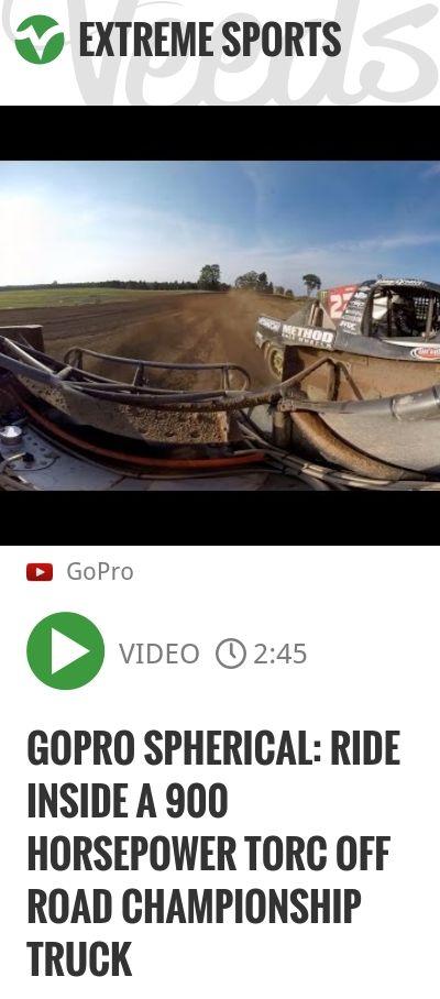 GoPro Spherical: Ride inside a 900 Horsepower TORC Off Road Championship Truck | #gopro | http://veeds.com/i/YjPZZzj8wFvvUhFd/extreme/