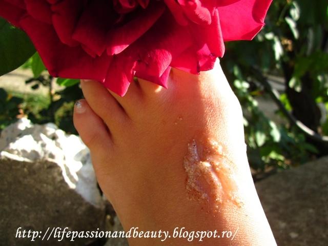 Life, passion and beauty: Review: Gomaj pentru picioare Yves Rocher