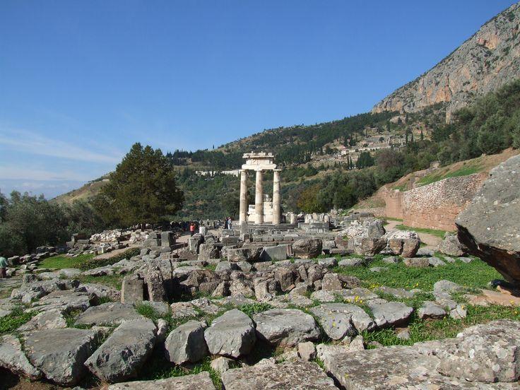 Athena Tempel Delphi #griechenland #kultur #studienreisen #urlaub