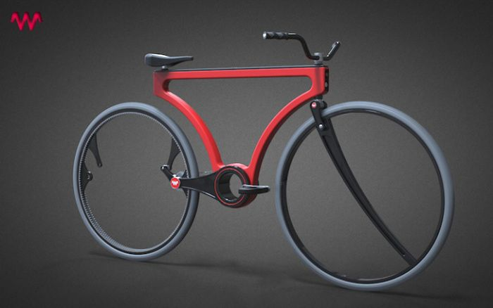 Jose Hurtados's Extraordinary Hubless Twist Bike Can be Turned into a Tanden