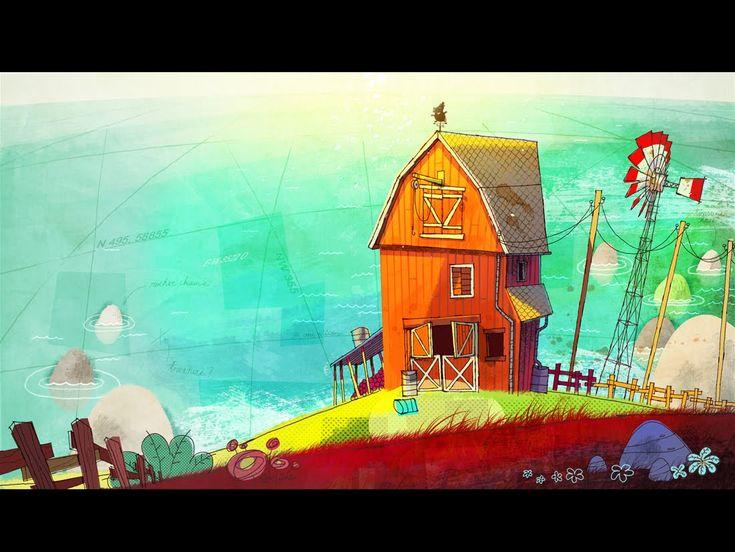 Verne's VacationBackgrounds Stuff, Concept Art, Illustration Influence, Art Ideas, Hslu Inspiration, De Polyminth, Animal Backgrounds, Sylvain Marc, Environment Style