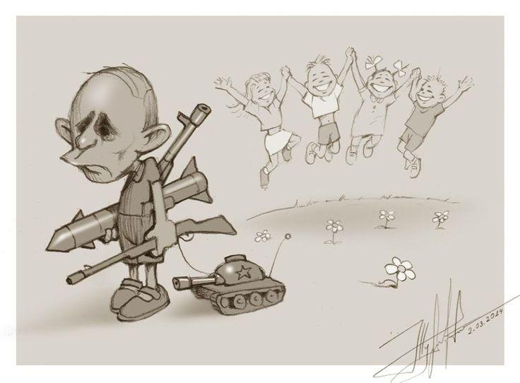 """""""Хотел Украину? Получишь Гаагу"""": на админгранице с Крымом появился новый бигборд с Путиным - Цензор.НЕТ 6238"""