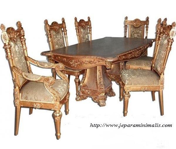 Kursi Meja Makan Manohara 6 Seater Kursi Meja Makan Manohara 6 Seater