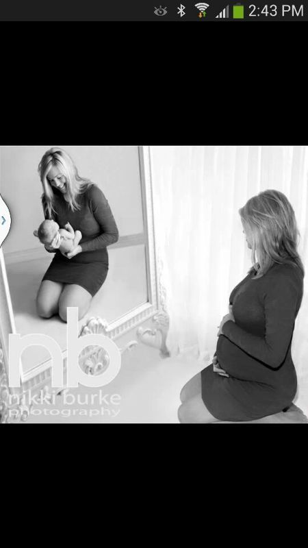 Pregnancy photo idea, one of the best ones I've seen