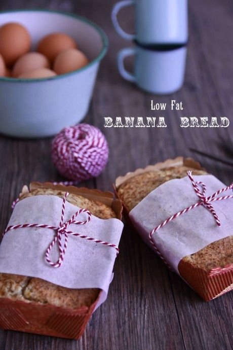 Luscious Fat Free Banana Bread