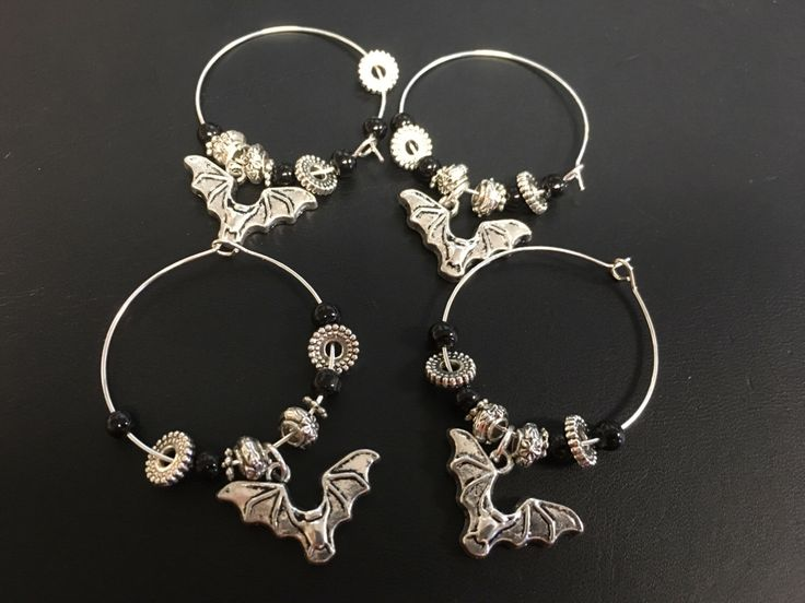 A personal favorite from my Etsy shop https://www.etsy.com/listing/468614760/halloween-themed-wine-charms