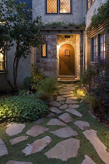 The stone stone work pinterest stones paths and - Front door walkways and paths ...