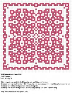 Quilt Square 2: Biscornu Charts, Crosses Stitches Embroidery, Needlework Patterns, Biscornu Crosses, Crosses Stitches Patterns, Quilts Squares, Free Crosses Stitches, Crosses Stitches 2, Biscornu Patterns