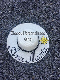 Chapéu Personalizado  Ana Maria  160ea144996