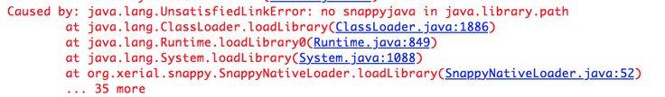 Cassandra and java.lang.UnsatisfiedLinkError: no snappyjava in java.library.path Error