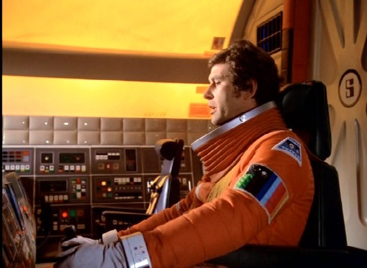 Eagle pilot. Space 1999 series