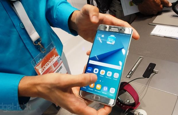 Samsung a inceput programul de inlocuire a Galaxy Note 7 in Romania