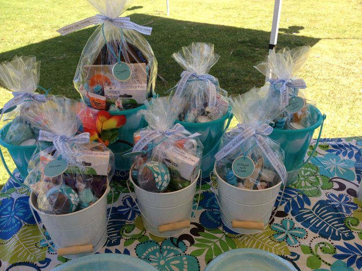 Birthday Gift Baskets In San Diego : Beach party gifts for my sister s th birthday at