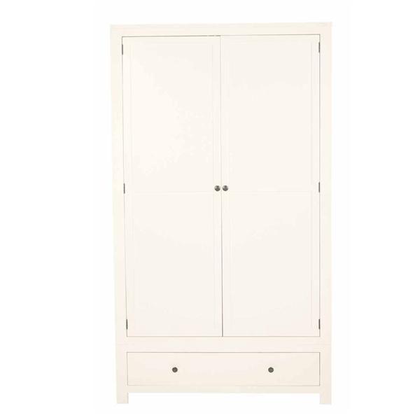 Salisbury White Wardrobe #featherandblack