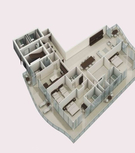 Architectural 3d Floor Plan Rendering: 13 Best Architectural Model Making Images On Pinterest