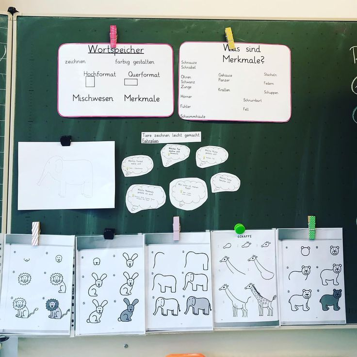 """In art class we started a new series: """"Animals draw easily …"""