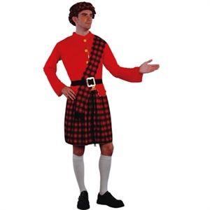 Komplet Skotte kostume som udklædning. Billige kostumer. #kostumer #temafest #klilt #skotte
