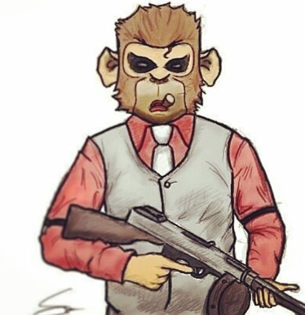 Drawing of Lui Calibres GTA V charcter. Pretty cool.