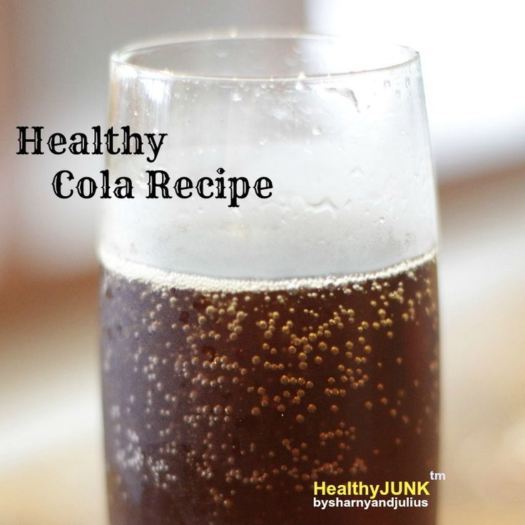 Healthy Cola Recipe | Sharny and Julius