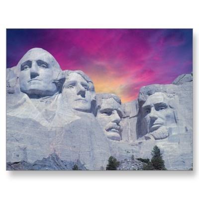 Mount Rushmore, South Dakota, USA Presidents