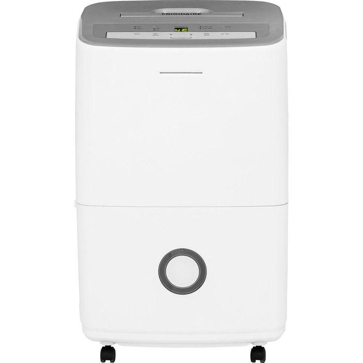 Frigidaire FFAD5033R1 Dehumidifier, White, 50 Pint