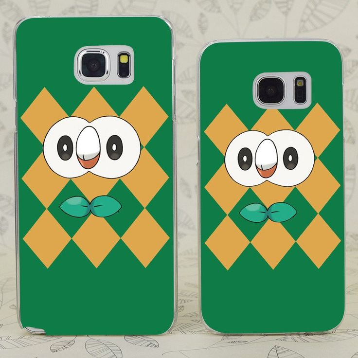 Rowlet Poke Hard Phone Case