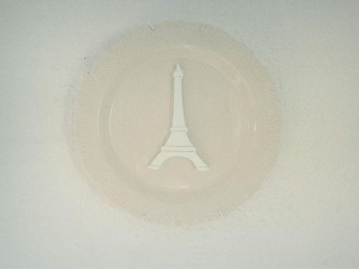 Paris Doilie Wall Plate
