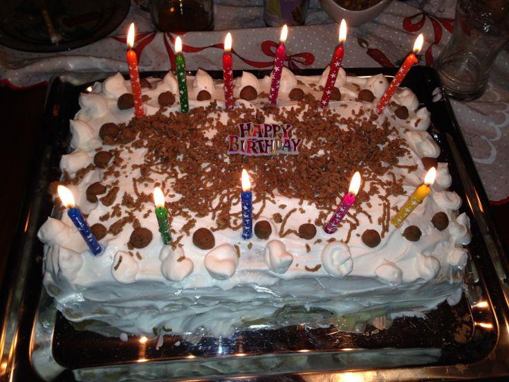 Gesztenye Torta Szülinapra / Chestnut Cake Birthday / Hungary, Gyöngyös