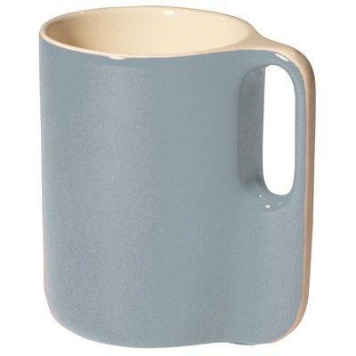 MUG TI SENTOU bleu : Mug Ti Sentou Edition bleuFaïence bicoloreD 7 ,7 x H 11 cmPasse au lave-vaisselle (CAFÉ THÉ - SENTOU - Prix : 9.90 EUR)