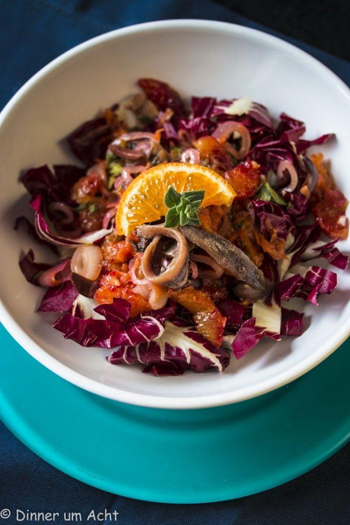 Orangen-Sardellen-Salat