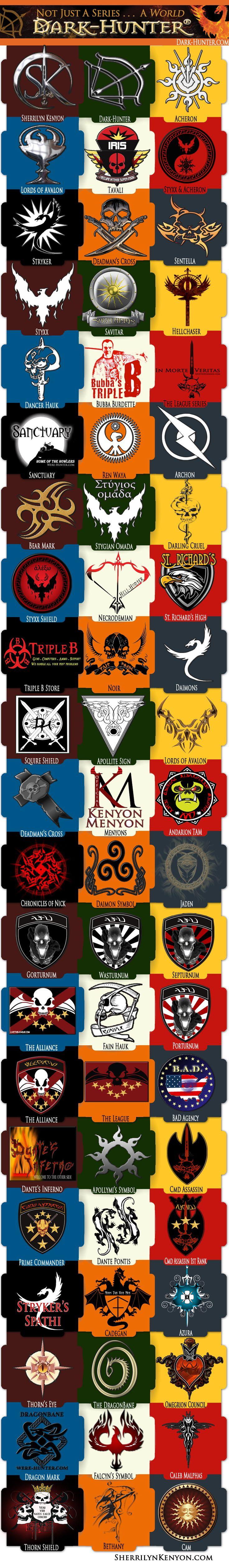 Logos From The Sk Series Dark Hunterbook