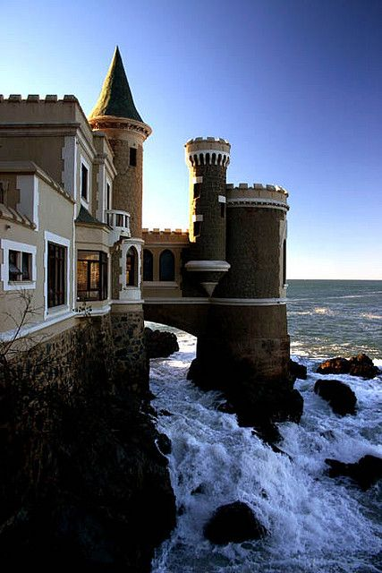 El Castillo Wulff in Vina del Mar, Chile--just one of the prettiest places I ever did see