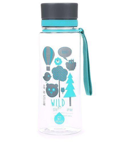 Plastová fľaša s motívom lesa EQUA (600 ml)