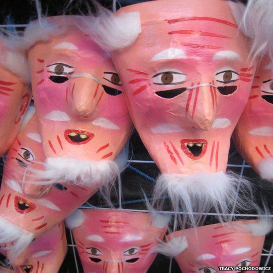 De Oaxaca, México, Tracy Pochodowicz enviou foto tirada no mercado natalino Benito Juarez.