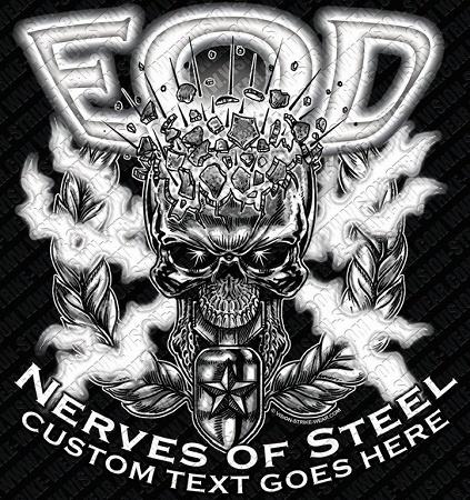 EOD Nerves Of Steel Shirt $17.76 | ARMY SHIRTS | Pinterest