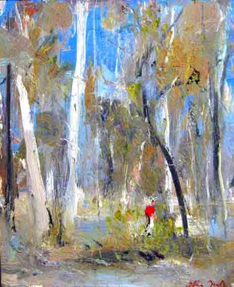Arthur Boyd, Wetland - Shoalhaven River 1975