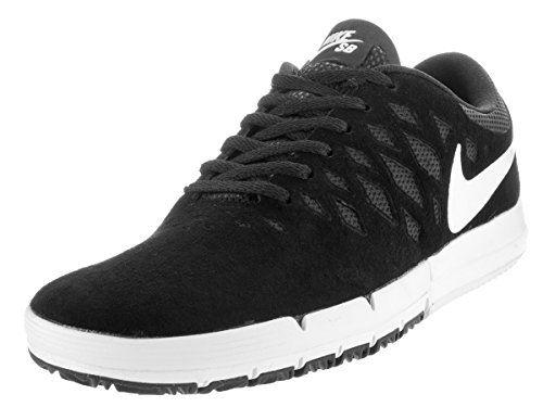 Nike Men's Free SB Black/White/Black Skate Shoe 11 Men US.