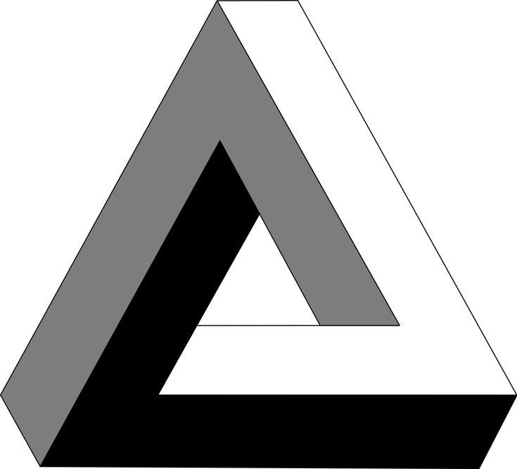 Penrose triangle - Wikipedia, the free encyclopedia