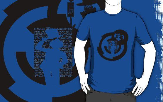 Buy it : http://www.redbubble.com/people/aoko/works/13933593-kaito-kid-quotes-logo?p=t-shirt&ref=work_carousel_work_portfolio_1